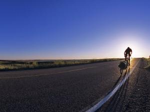 Bike Touring the Lewis and Clark Route, Bismarck, North Dakota by Chuck Haney