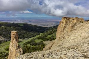 Cliffs in the Bighorn Mountains of Wyoming by Chuck Haney