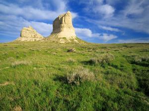 Courthouse and Jailhouse Rock, Nebraska, USA by Chuck Haney