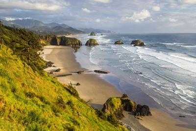 Crescent Beach at Ecola State Park in Cannon Beach, Oregon, USA by Chuck Haney