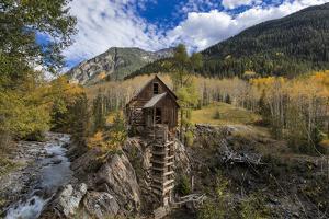 Crystal Mill Near Marble, Colorado, Usa by Chuck Haney