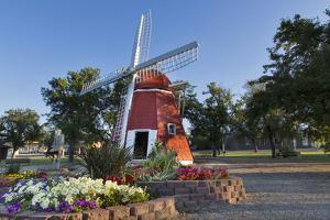 Danish Mill Built in 1902 Resides in Kenmare, North Dakota, USA by Chuck Haney