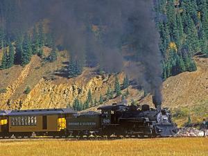 Durango, Silverton Train, Colorado, USA by Chuck Haney