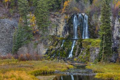 Falls on the Little Bitterroot River in the Lolo National Forest, Montana, USA by Chuck Haney