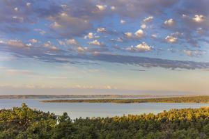 Fort Peck Reservoir from The Pines near Fort Peck. Montana, USA by Chuck Haney