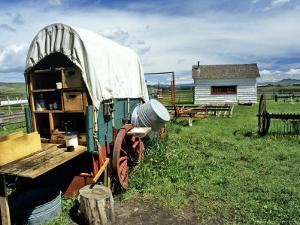 Grant-Kohrs National Historic Site, Deerlodge, Montana, USA by Chuck Haney