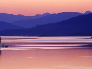 Lake Pend Oreille near Sandpoint, Idaho, USA by Chuck Haney