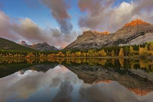 Morning light on Wedge Pond in Kananaskis Country, Alberta, Canada by Chuck Haney