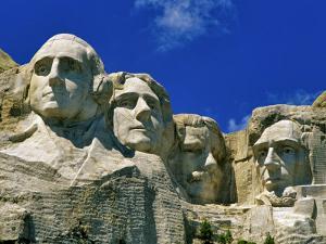 Mount Rushmore in South Dakota, USA by Chuck Haney