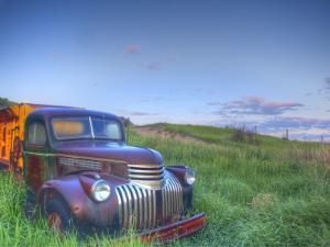 Old Chevy Truck in the Little Missouri National Grasslands, North Dakota, USA by Chuck Haney