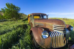 Old Feed Truck Near Medora, North Dakota, Usa by Chuck Haney