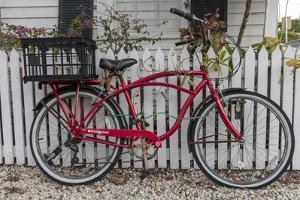 Old Schwinn bicycle in Key West, Florida, USA by Chuck Haney