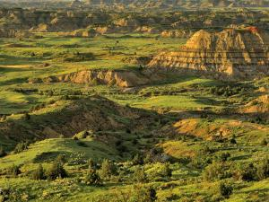 Painted Canyon after Storm in Theodore Roosevelt National Park, North Dakota, USA by Chuck Haney