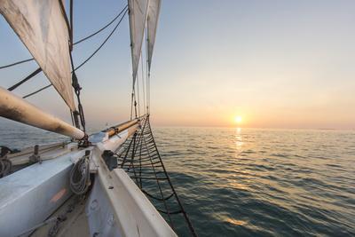 Sunset Cruise on the Western Union Schooner in Key West Florida, USA