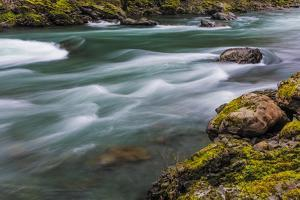 The Elwha River in Olympic National Park, Washington State, USA by Chuck Haney
