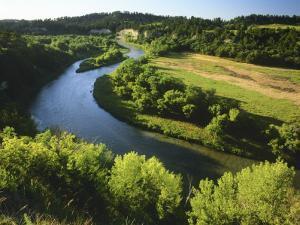 The Niobrara River Near Valentine, Nebraska, USA by Chuck Haney