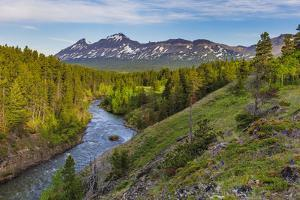 The South Fork of the Two Medicine River in the Lewis and Clark National Forest, Montana, USA by Chuck Haney