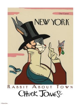Wabbit About Town - Eustace Tilley by Chuck Jones
