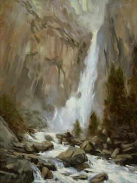 Yosemite Falls by Chuck Larivey