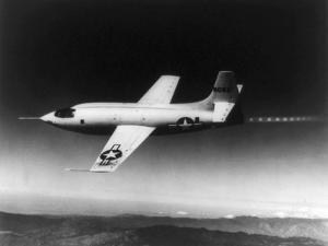 Chuck Yeager Broke the Sound Barrier in a Bell X-1 Rocket Plane on October 14, 1947