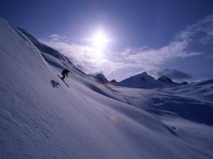 Chugach Mountains Alaska, USA