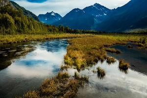 Chugach state park, outside of Anchorage Alaska