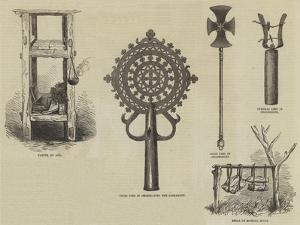 Church Furniture of Abyssinia