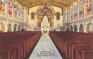 Church Interior, Palm Beach, Florida