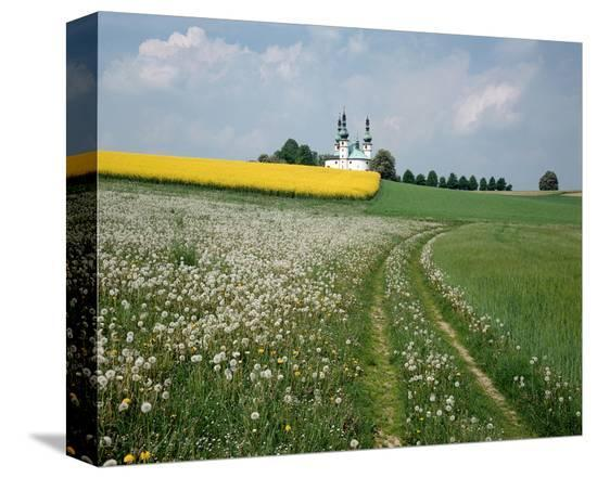 Church Kappel Germany--Stretched Canvas Print