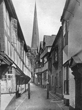Church Lane, Ledbury, Herefordshire, 1924-1926 by E Bastard