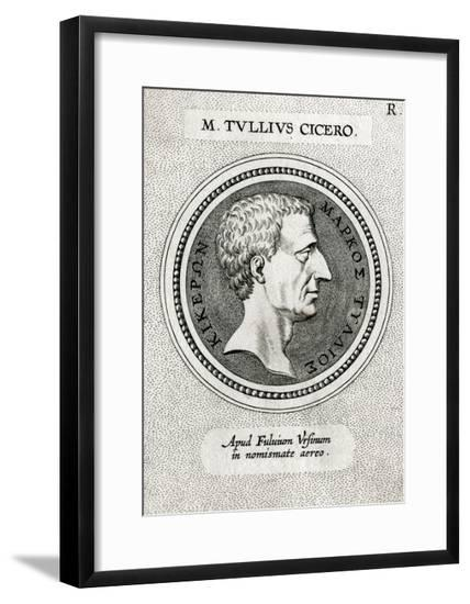 Cicero (From a Medal)--Framed Giclee Print