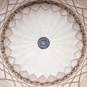 Cieling detail, Humayun's Tomb, Nizamuddin East, New Delhi, India