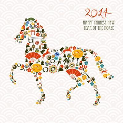 Chinese New Year Of The Horse by cienpies