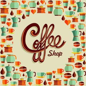 Coffee Icon Illustration by cienpies