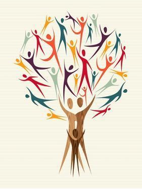 Diversity People Tree by cienpies
