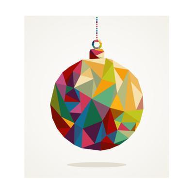 Geometric Christmas Ornament by cienpies