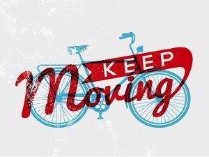 Retro Bike Concept Typography by cienpies