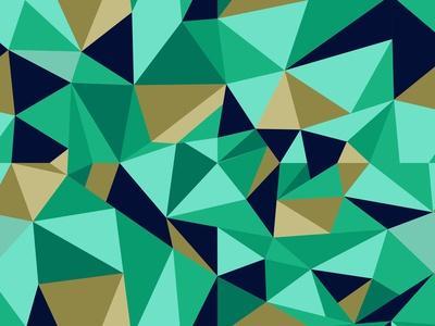 Trendy Abstract Geometric Pattern