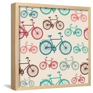 Vintage Bike Pattern by cienpies