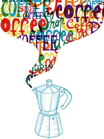 Vintage Coffee Sketch by cienpies