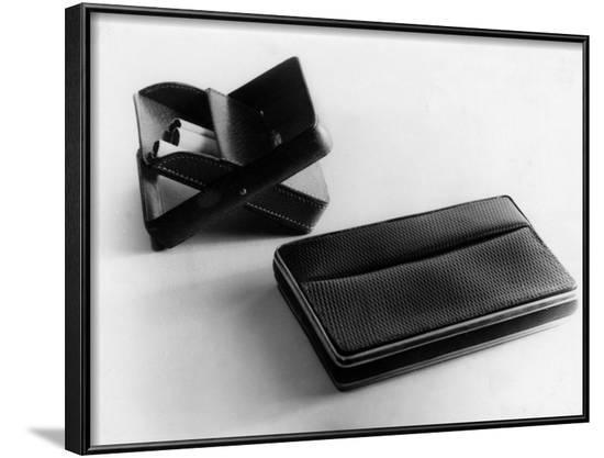 Cigarette Holder and Case--Framed Photographic Print