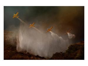 Cilento National Park Fire Fight