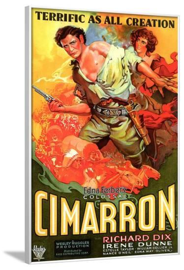 Cimarron--Framed Poster