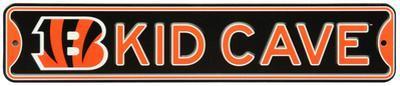 Cincinnati Bengals Steel Kid Cave Sign