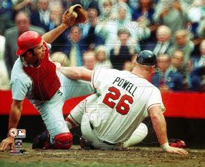 Cincinnati Reds, Baltimore Orioles - Johnny Bench, Boog Powell Photo