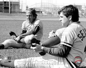 Cincinnati Reds - Johnny Bench, Tom Seaver Photo