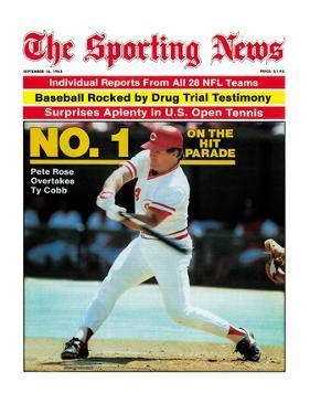 Cincinnati Reds' Pete Rose - September 16, 1985