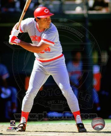 Cincinnati Reds Tony Perez 1985 Action