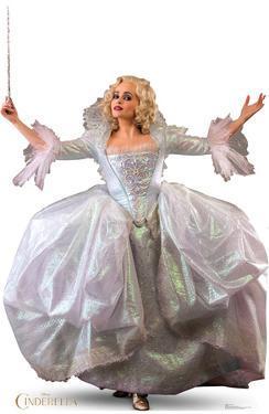 Cinderella (2015) - Fairy Godmother Lifesize Cardboard Cutout