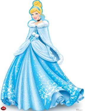 Cinderella Holiday - Disney Lifesize Standup